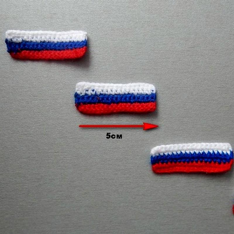 одной поделки к дню россии вязанные фанерный лист
